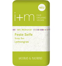 i+m Naturkosmetik Berlin WE REDUCE Feste Seife Lemongras