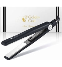 GoldenCurl Piastra per Capelli Black & White