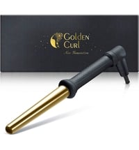 "The Gold Curling Wand (18-25 mm) -25% with coupon code ""GC-25"""