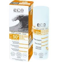 eco cosmetics Sonnencreme Surf & Fun getönt LSF 50+