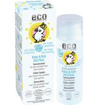 eco cosmetics Baby-Sonnencreme LSF 50+ Neutral