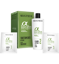 Alpha Keratin Treatment Set (Shampoo,Fluid,Maske)