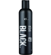 Black for Men Shampoo Total 3 in 1 for Men