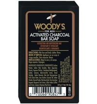 Woody´s Activated Charcoal Bar Soap