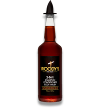 Woody´s 3-N-1 Shampoo, Conditioner & Body Wash