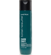 Total Results Dark Envy Neutralising Green Shampoo