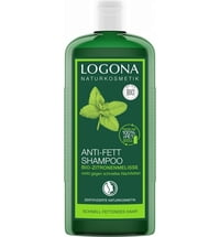 Logona Organic Lemon Balm Anti-Oil Shampoo